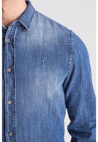 Koszula Trussardi Jeans biznesowa, na co dzień, na lato