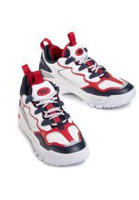 Białe buty sportowe Supra z cholewką, na co dzień