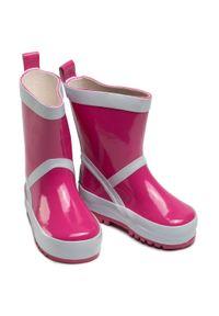 Różowe kalosze Playshoes