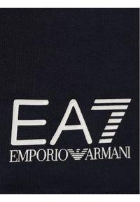 Niebieskie spodenki sportowe EA7 Emporio Armani #3