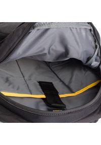 CATerpillar - Plecak CATERPILLAR - Brent 83435 Black 01. Kolor: czarny. Materiał: materiał #3