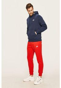 Nike Sportswear - Bluza. Okazja: na co dzień. Kolor: niebieski. Materiał: dzianina. Styl: casual