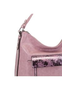 Różowa torebka worek Wittchen