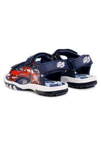 Niebieskie sandały Cars na lato, klasyczne