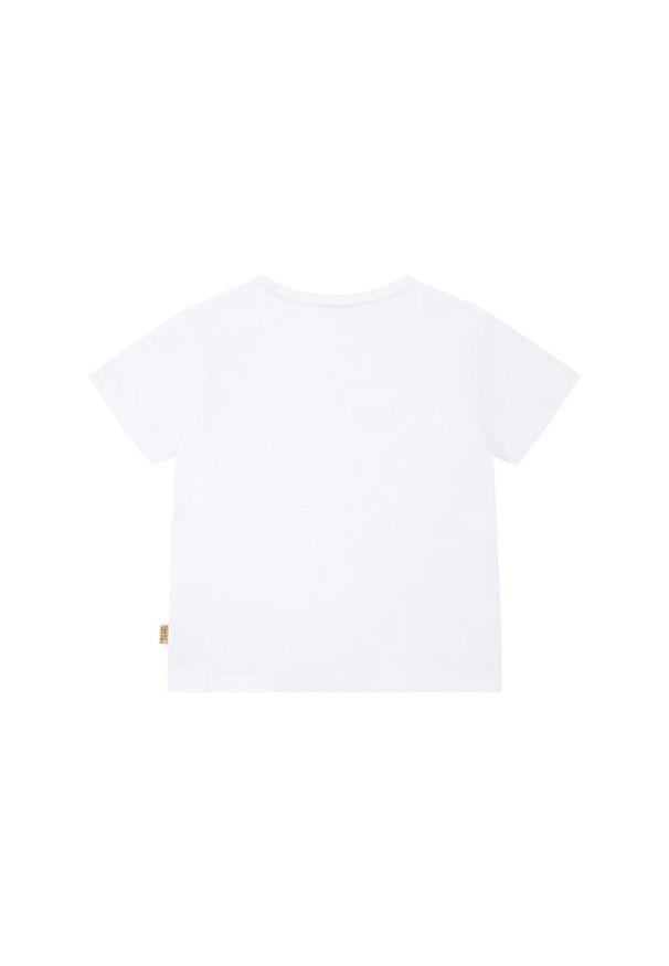Biały t-shirt Little Marc Jacobs