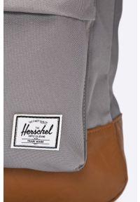 Herschel - Plecak. Kolor: szary. Wzór: paski