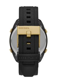 Diesel - Zegarek. Kolor: czarny. Materiał: tworzywo sztuczne, materiał