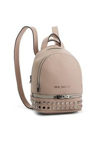 Beżowy plecak Eva Minge