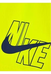 Żółte kąpielówki Nike