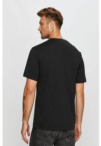 Czarny t-shirt adidas Originals casualowy, na co dzień