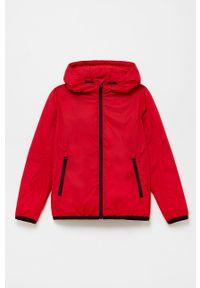Czerwona kurtka OVS casualowa, na co dzień