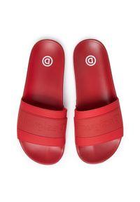 Czerwone klapki Desigual