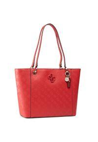 Czerwona torebka klasyczna Guess skórzana