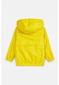 Żółta kurtka Mayoral casualowa, z kapturem