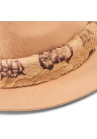Guess - Kapelusz GUESS - Not Coordinated Hats AW8539 WOL01 CAM. Kolor: beżowy. Materiał: wełna, materiał