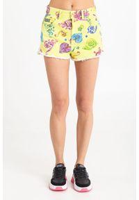 SZORTY Versace Jeans Couture. Stan: podwyższony. Długość: krótkie. Sezon: lato. Styl: rockowy, klasyczny
