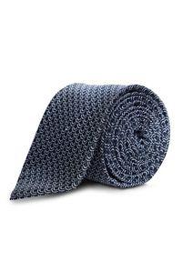 Niebieski krawat TOMMY HILFIGER