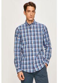Niebieska koszula Izod casualowa, długa