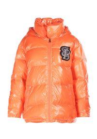 Pomarańczowa kurtka Born2be
