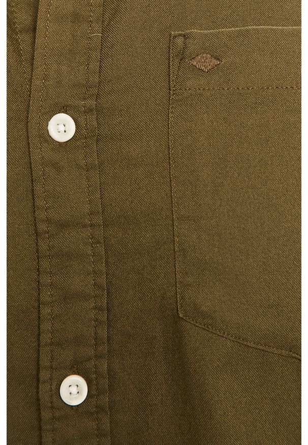 Oliwkowa koszula PRODUKT by Jack & Jones długa, casualowa
