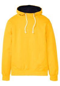 Żółta bluza bonprix z kapturem