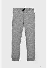 Szare spodnie dresowe Name it na co dzień