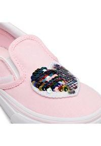 Vans Tenisówki Classic Slip-On VN0A4BUT31L1 Różowy. Zapięcie: bez zapięcia. Kolor: różowy