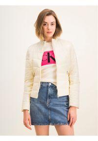 Beżowa kurtka puchowa Calvin Klein Jeans