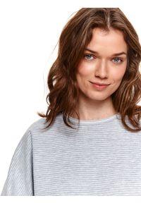 Szara bluza TOP SECRET gładkie
