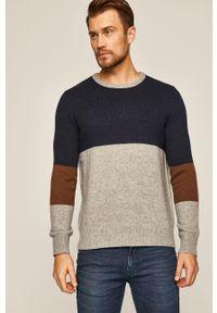 Wielokolorowy sweter medicine casualowy, na co dzień