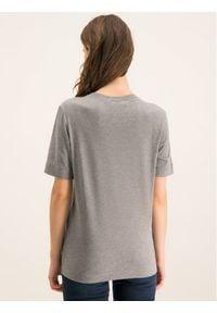 Love Moschino - LOVE MOSCHINO T-Shirt W4F151VM 3517 Regular Fit. Kolor: szary