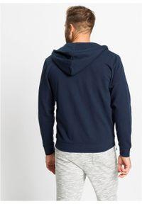 Bluza rozpinana z kapturem bonprix Bluza rozpinana c.nieb.. Typ kołnierza: kaptur. Kolor: niebieski
