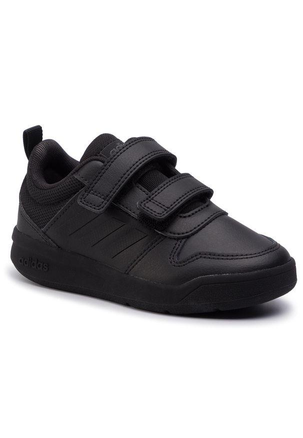 Czarne półbuty Adidas z cholewką, na rzepy