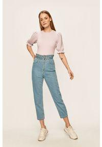 Niebieskie jeansy loose fit ANSWEAR