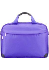Fioletowa torba na laptopa Sumdex