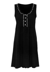 Cellbes Koszula nocna Czarny female czarny 46/48. Kolor: czarny. Materiał: jersey