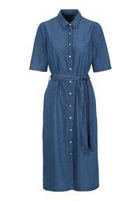 Niebieska sukienka Happy Holly prosta