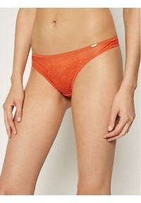 Pomarańczowe stringi Gossard