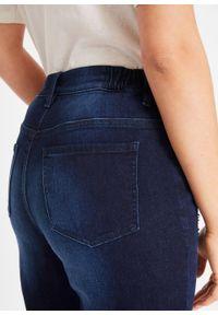 """Wygodne dżinsy z kolekcji Maite Kelly bonprix ciemnoniebieski """"stone used"""". Kolor: niebieski #5"""