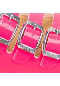 Różowe klapki Superfit klasyczne