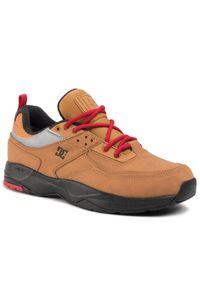 Brązowe buty skate DC