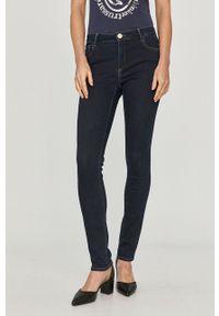 Niebieskie jeansy Trussardi Jeans klasyczne, gładkie