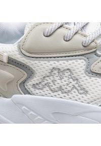 Kappa - Sneakersy KAPPA - Crumpton 242928 White/L'Grey 1014. Okazja: na spacer, na co dzień. Kolor: biały. Materiał: materiał. Szerokość cholewki: normalna. Sezon: lato. Styl: casual