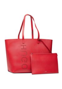 Hugo Torebka Chelsea Shopper 50456741 10236810 01 Czerwony. Kolor: czerwony