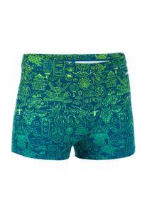 NABAIJI - Bokserki Pływackie Fitib All City Dla Dzieci. Kolor: turkusowy, niebieski, wielokolorowy. Materiał: materiał, poliester, poliamid