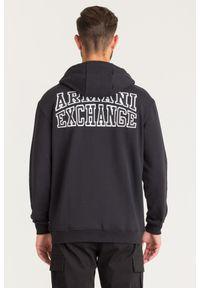 Armani Exchange - BLUZA ARMANI EXCHANGE. Typ kołnierza: kołnierzyk stójkowy, kaptur. Styl: klasyczny