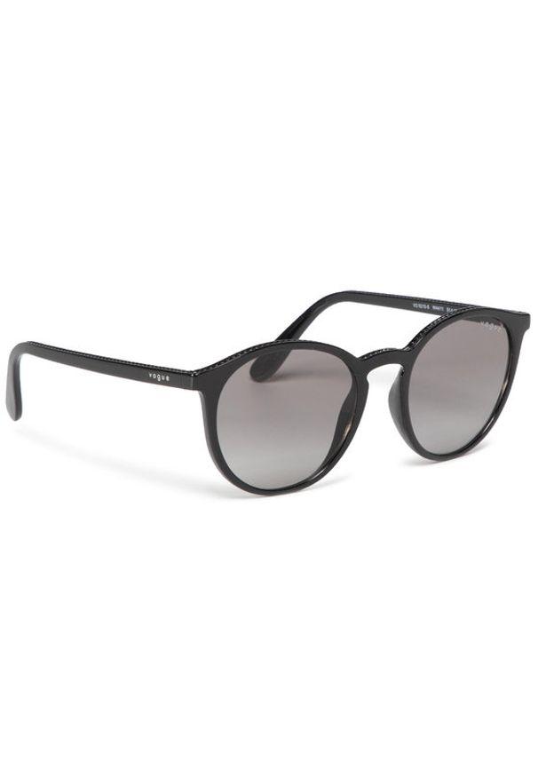 Czarne okulary przeciwsłoneczne Vogue