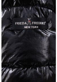 Frieda & Freddies - Kurtka. Okazja: na co dzień. Kolor: czarny. Materiał: materiał. Styl: casual