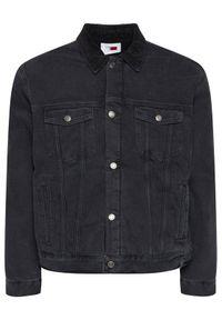 Czarna kurtka jeansowa TOMMY HILFIGER