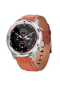 Pomarańczowy zegarek GARETT wakacyjny, smartwatch